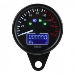 Motorcycle speedometer - universal - with LCD display - LED - waterproof