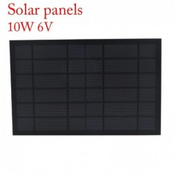 Solar panel - phone / batteries charger - 10W - 6V