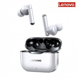 Lenovo LP1 - wireless in-ear headphones - Bluetooth - waterproof - noise cancelling - with microphone