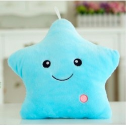 Led Star Light Plush Cushion 36cm