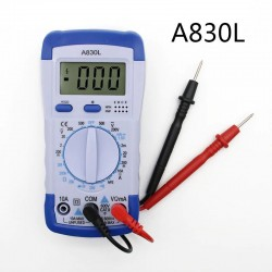A830L - digitale multimeter - multifunctionele DC / AC / spanningstester - LCD