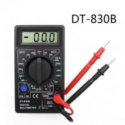 DT-830B - LCD digitale multimeter - 1999 counts - AC / DC / Ohm / spanningstester - 750 - 1000V
