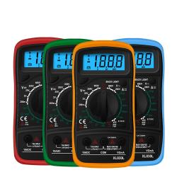 XL830L - digitale multimeter - LCD - met achtergrondverlichting - AC / DC / Ohm tester