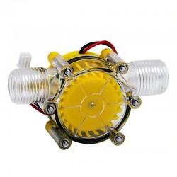 Water flow pump - mini hydro turbine - energy generator - 5V - 12V - 80V - 10W