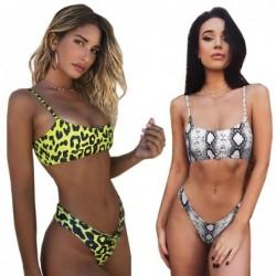 Sexy bikini set - snakeskin / leopard print