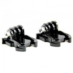 GoPro mount - Quick-Release - plastic - 2 pieces