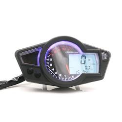 Digitale kilometerteller - snelheidsmeter voor motor met LED LCD-display