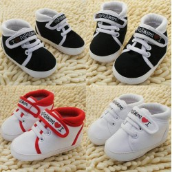 Baby Toddler Canvas Sneakers 2-18m