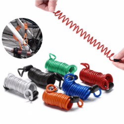 2.5M  spring cable lock  -...