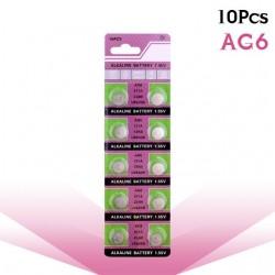 AG6 371 D371 605 SR920SW SR69 alkaline knoop batterij cell batterij 10 stuks