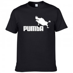 Classic short sleeve t-shirt - cotton - funny Pumba