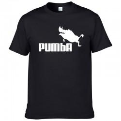 Klassiek T-shirt met korte mouwen - katoen - grappig Pumba