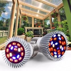 LED plantengroeilicht - phyto lamp - volledig spectrum - E27 / E14 / 18W / 28W - UV / IR