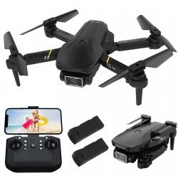 FLYHAL E69 - WIFI - FPV - 1080P HD Wide Angle Camera - Foldable - RC Drone Quadcopter - RTF
