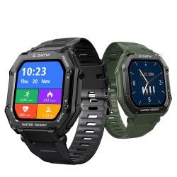 KOSPET ROCK - Smart Watch - Bluetooth - Android / IOS - waterproof - fitness tracker - blood pressure monitor