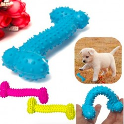 Dog Puppy Bone Rubber Ball