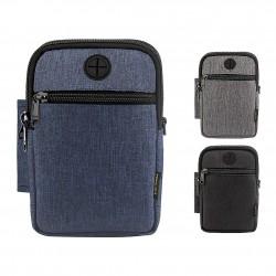 Small shoulder & crossbody waterproof bag - unisex - earphone socket