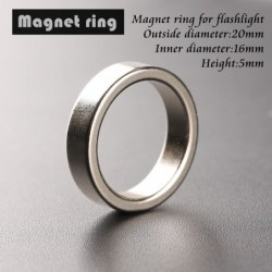 Magnetic ring / hoop - for Convoy flashlight ends tail - 20mm * 16mm * 5mm