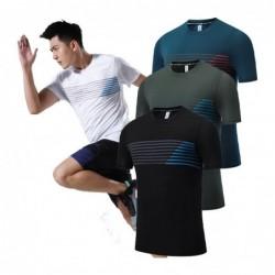 Heren sport t-shirt - ademend - elastisch - sneldrogend