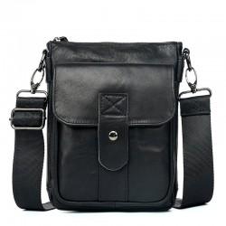 Genuine leather crossbody / shoulder bag