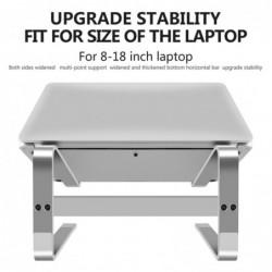 Laptop / tablet stand - aluminum - anti-skid