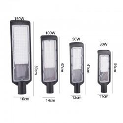 Straßenbeleuchtung im Freien - LED-Lampe - wasserdicht - 100W / 150W