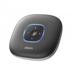 Anker PowerConf Bluetooth Speakerphone conference speaker with 6 Microphones, Enhanced Voice Pickup, 24H Call Time