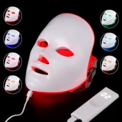 Schoonheid gezichtsmasker - 7 kleuren LED - huidverjonging - anti acne - whitening - anti rimpel - fototherapie
