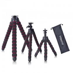 Mini tripod octopus - flexible spider legs - for camera / phone / GoPro / Canon / Nikon / Sony / DSLR
