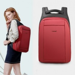 Fashionable backpack - anti-theft - USB charging port / earphone jack - for 15.6inch laptop - waterproof