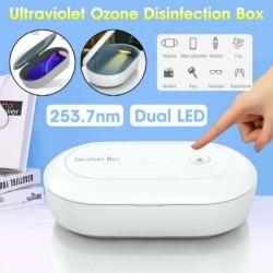 Universele desinfectiebox - sterilisator - voor telefoons / gezichtsmaskers / speelgoed - UV-licht - met USB-kabel