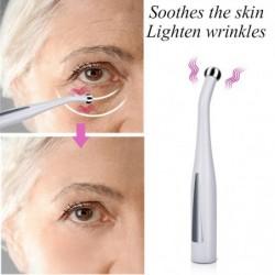 2 in 1 - elektrisch gezichts- / ogenmassageapparaat - vibratiepen - anti-rimpel / verjonging