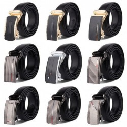 Classic men's belt - with automatic buckle - genuine leather