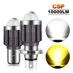 CSP - 10000Lm - LED motorcycle bulb - headlight - Hi-Lo - H4 / BA20D