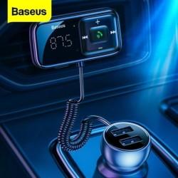 Baseus - FM-zender - Bluetooth - USB autolader - AUX - handsfree - MP3-speler