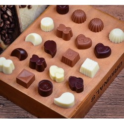 Silicone mold - for chocolate / jelly - non-stick