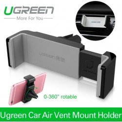 Ugreen Universal Car Phone Holder Air Vent Monut GPS Stand 360 Adjustable For iPhone 5 6 Plus Samsung S6 HTC