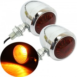 12V motorcycle turning signal lights - indicators 2 pieces