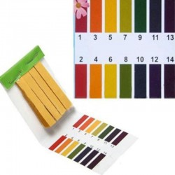160 Strips Mini 1-14 Full Range PH Tester Paper