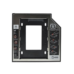 Insertion hard drive universelle 9.5mm SATA Caddy SSD HDD 3.0 2.5""