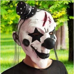 Silikon Halloween Clown Maske