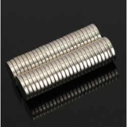 N50 Neodymium Magnet Strong Round Disc 12 * 2mm 50pcs