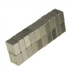 N35 Neodymium Magnet Strong Block 5 * 5 * 3mm 20pcs