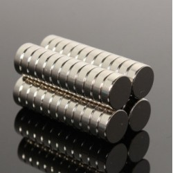 N40 Neodymium Magnet Strong Round Disc 9 * 3mm 50pcs