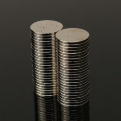 N50 Neodymium Magnet Strong Round Disc 10 * 1mm 50pcs