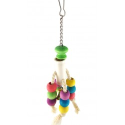 Parrot Cage Bird Toy With Bell