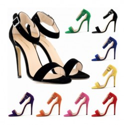 Women's Open Toe Pumps High Heels Shoes