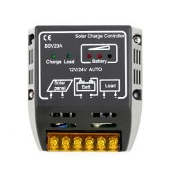 20A 12V/24V Solar Panel Charge Controller |