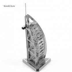 3D Burj Al Arab Metal DIY Puzzle Construction Kit |