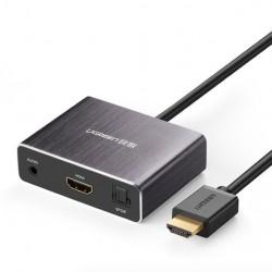 UGreen HDMI Audiosplitter 4K Met Optische Uit Converter